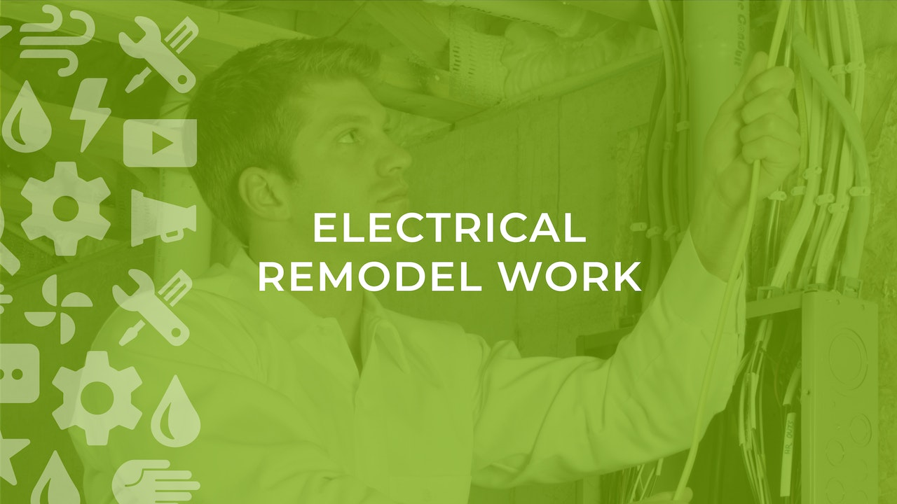 Electrical Remodel Work