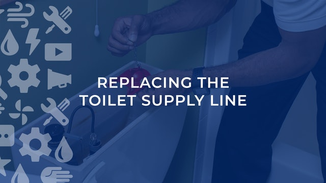 Replacing The Toilet Supply Line