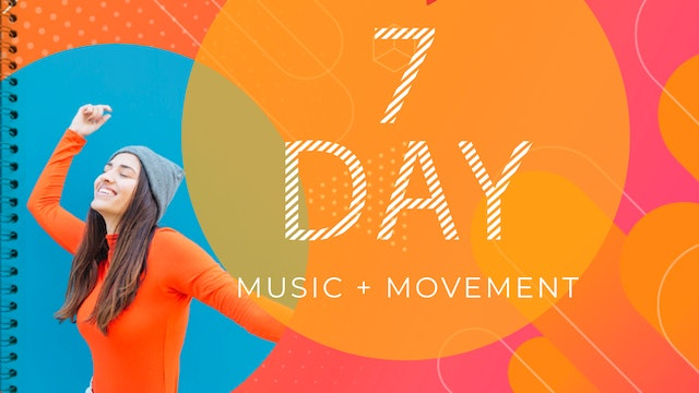 7-Day Music + Movement Wellness Program Booklet