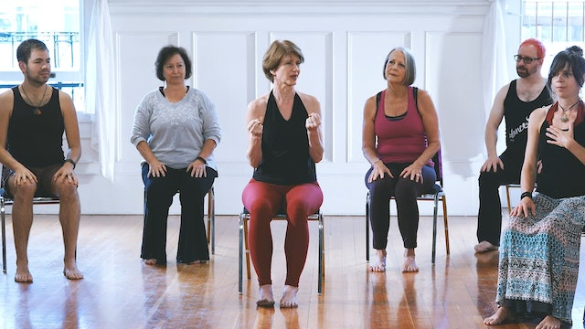 Day 9 - Move: Joy (Seated Class)