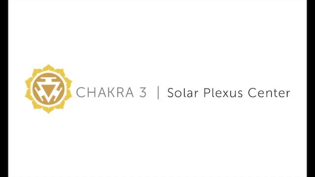 Day 3 - Meditation, Solar Plexus Center