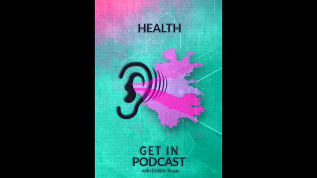 Get in Podcast - Health - Battling Aphasia ft. Ruth Resch