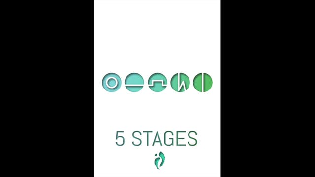 Day 7 - Embodying the Basics (5 Stages)