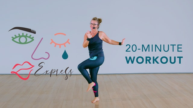 EXPRESS Routine - 20 Minute Workout with Kate Latimer