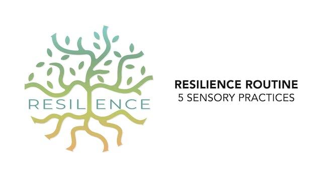 RESILIENCE Routine - 6. 5 Sensory Pra...