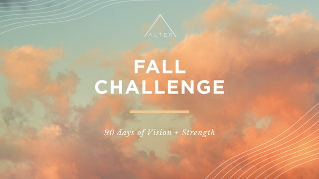 Alter Fall Challenge Kick-Off Envision Workshop
