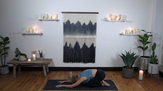 Meditative Stretch 4 - Welcome Mat