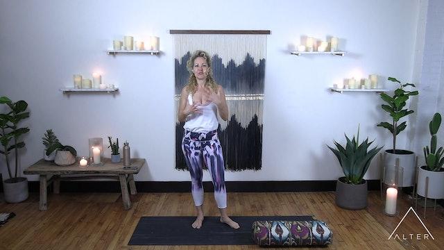 Meditative Stretch 3 - Alongside - side body