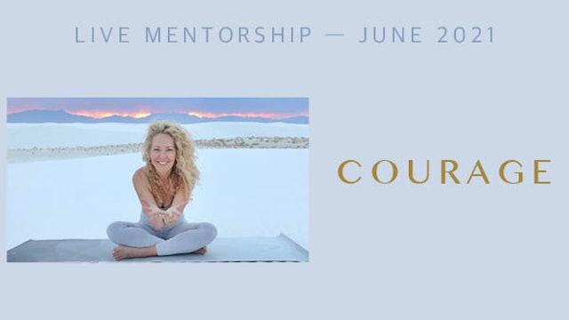 Alter Together Mentorship Session - June 2021 - Courage