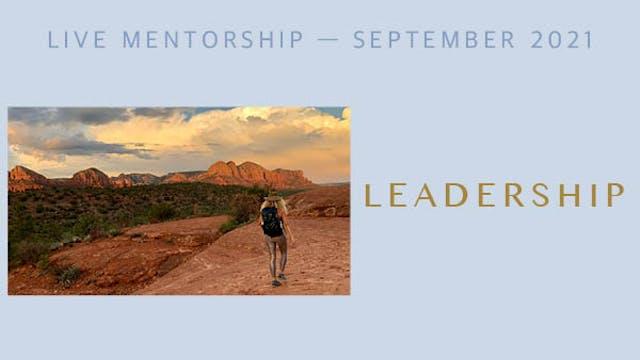 Alter Together September Mentorship s...