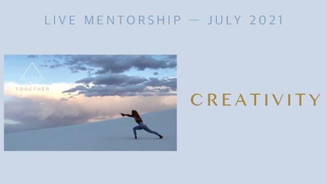 Alter Together July 2021 Mentorship -...