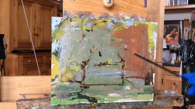 Demonstration Direct Painting Method