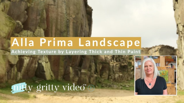 Alla Prima Landscape