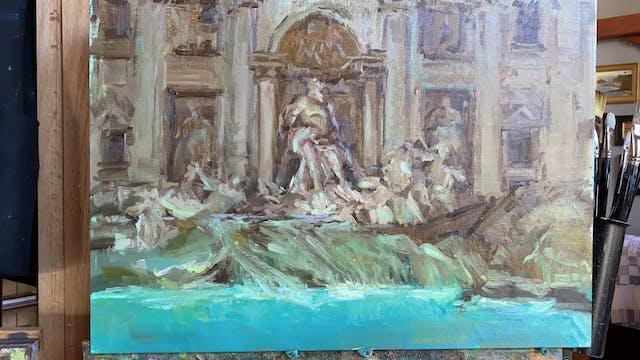 Time-lapse demonstration: Fontana di ...