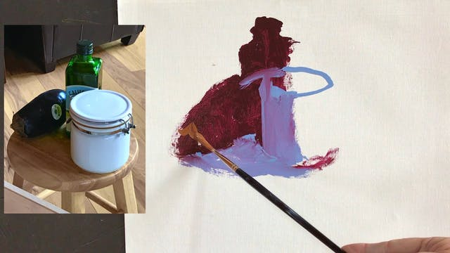 Loosen Up 8 stroke Painting