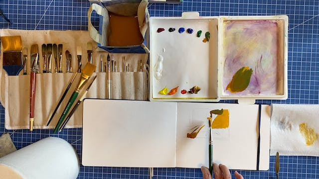Introduction to Gouache