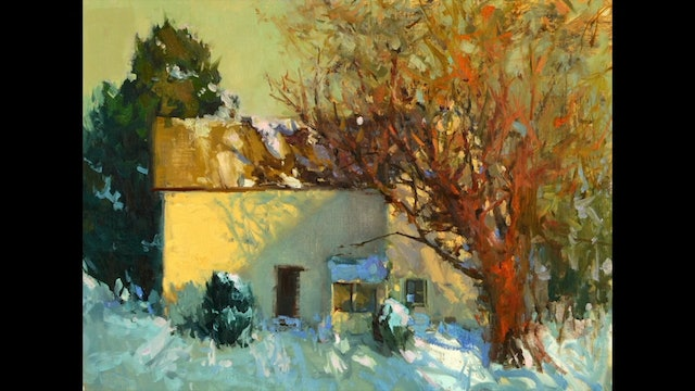 Quick Tip: Painting Bare Trees
