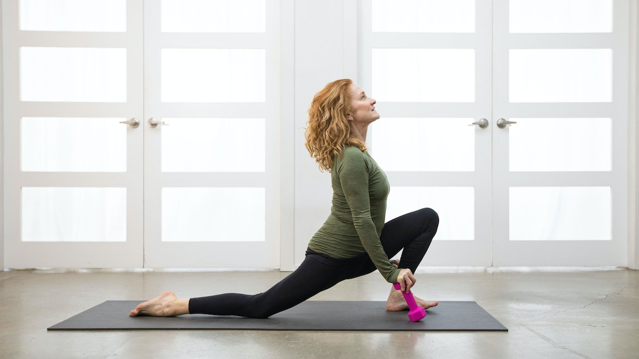 LEARN   Foundations of Weighted Yoga with Kate Potter