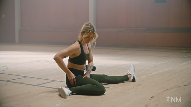 Hurdle Stretch Massage