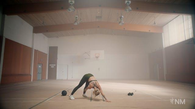 Downward Dog to Side Plank