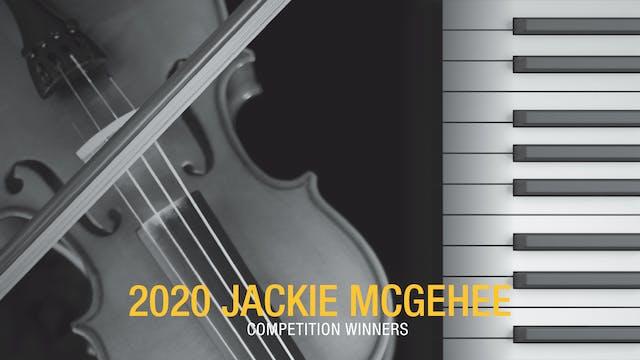 2020 Jackie McGehee Competition Winners