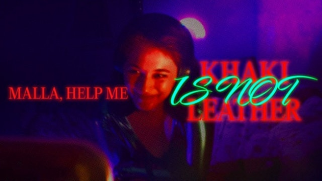 """Khaki is Not Leather 