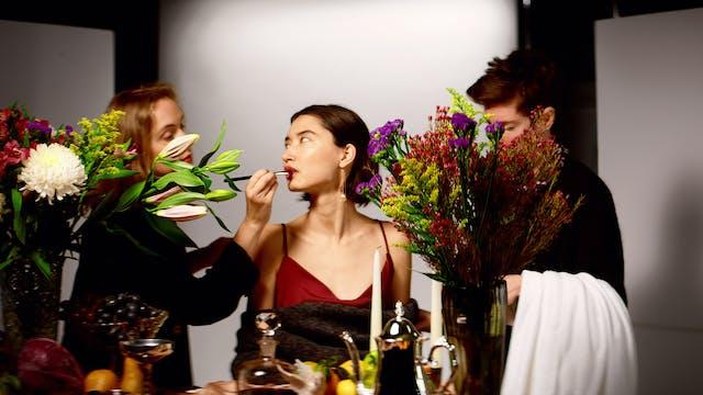 A Woman Eats
