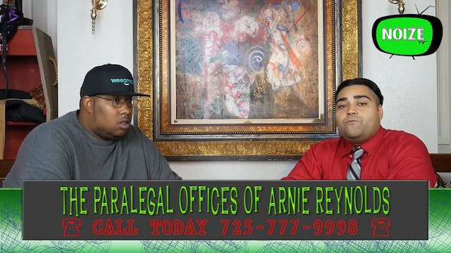 Arnie  Reynolds: Paralegal Hour