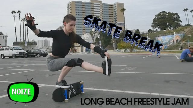 Skate Break: 2018 Long Beach Freestyl...