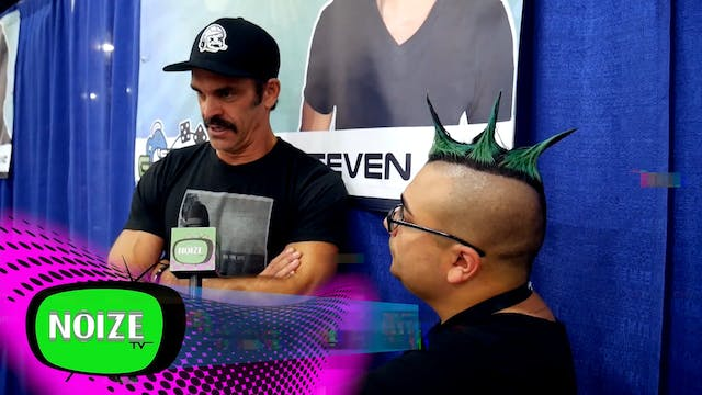 Noize TV interviews Steven Ogg