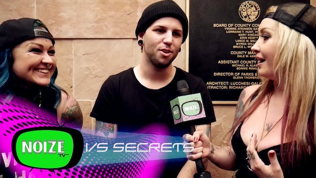 Noize TV: Shay Interviews Secrets