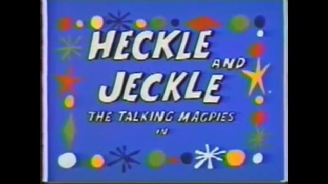 Heckle and Jeckle in Sno Fun