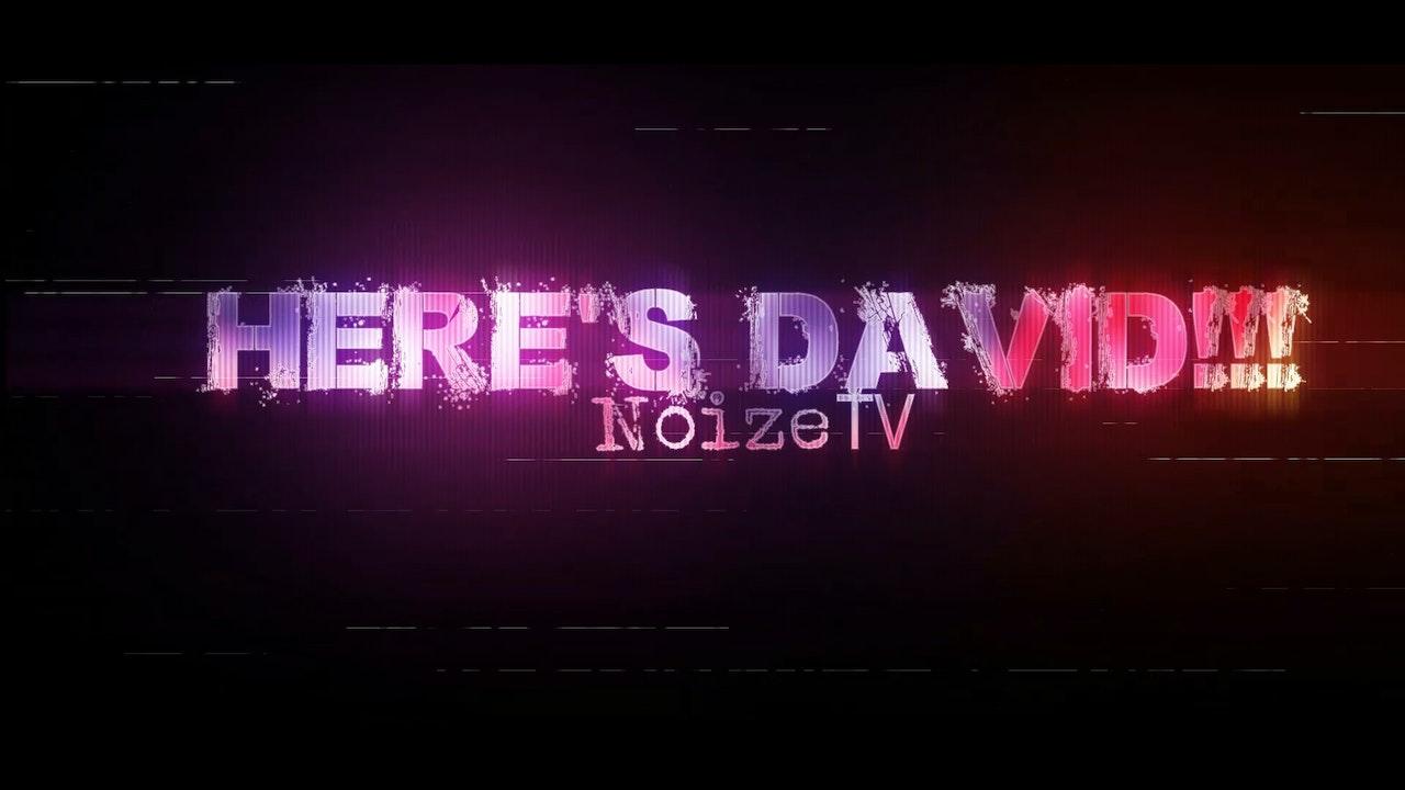 HERE'S DAVID!