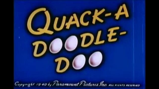 Baby Huey: Quack a Doodle Doo