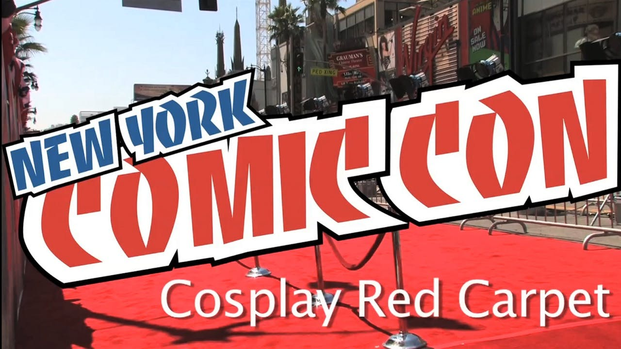 Cosplay Red Carpet at NYCC | Non-Productive.com