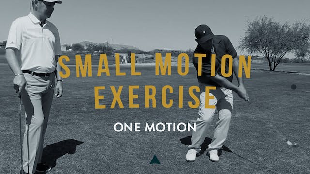 Small Motion Exercise