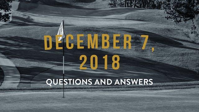 December 7, 2018