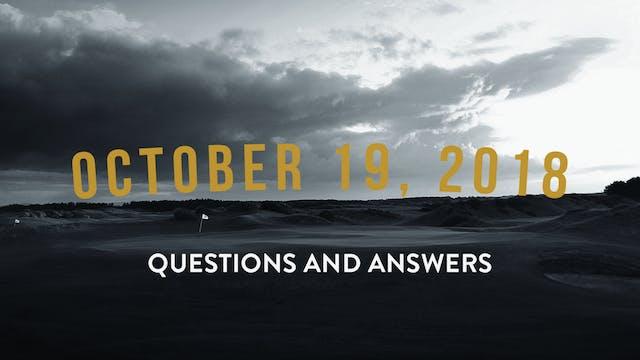 October 19, 2018