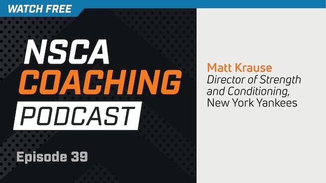 Episode 39 - Matt Krause