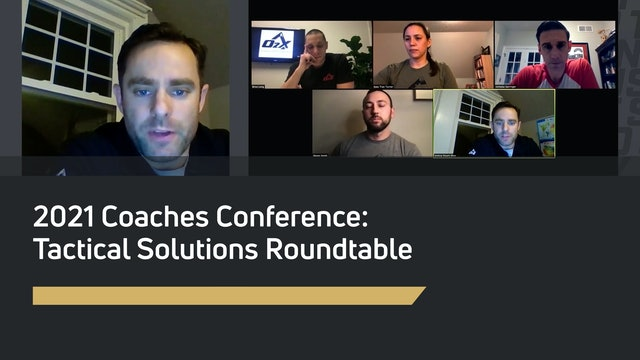Tactical Solutions Roundtable - Barringer, Long, Smith, Stuart-Shor, Turner