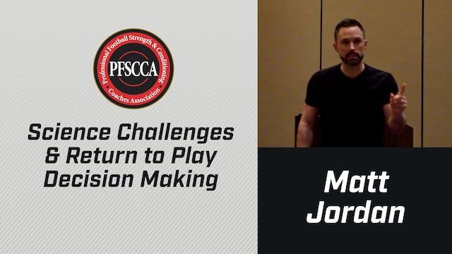PFSCCA: Science Challenges & Return t...