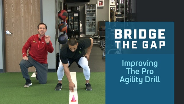 Improving the Pro Agility Drill