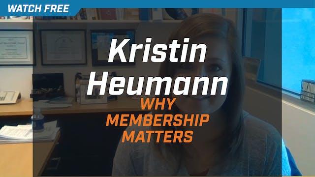 Kristin Heumann on Why NSCA Membershi...