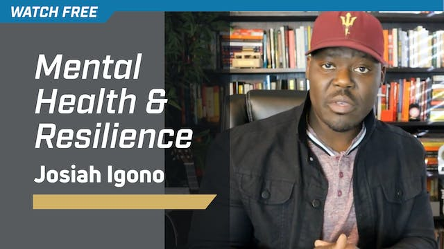 Mental Health & Resilience with Josia...