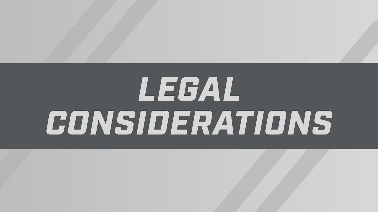 Legal Considerations