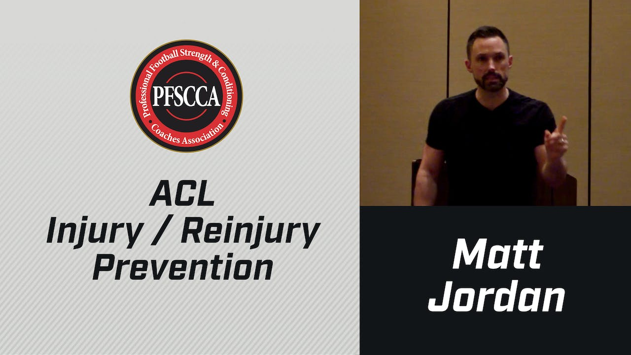 PFSCCA: ACL Injury / Reinjury Prevention