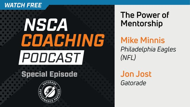 SPECIAL EPISODE - THE POWER OF MENTOR...