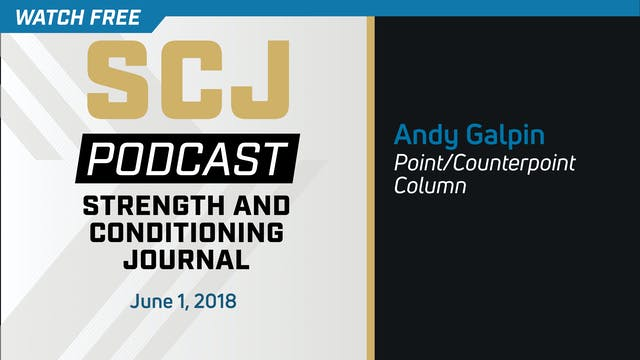 Point Counterpoint - Andy Galpin