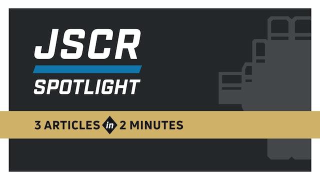 JSCR Spotlight