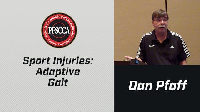 PFSCCA: Sports Injuries: Adaptive Gait